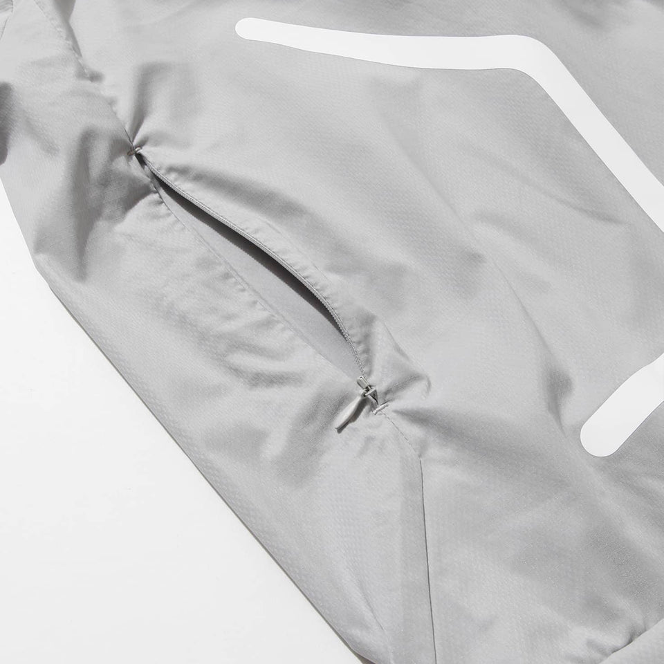 MICROFT x SOLOTEX ULTRA LIGHT WEIGHT HOODIE - GRAY