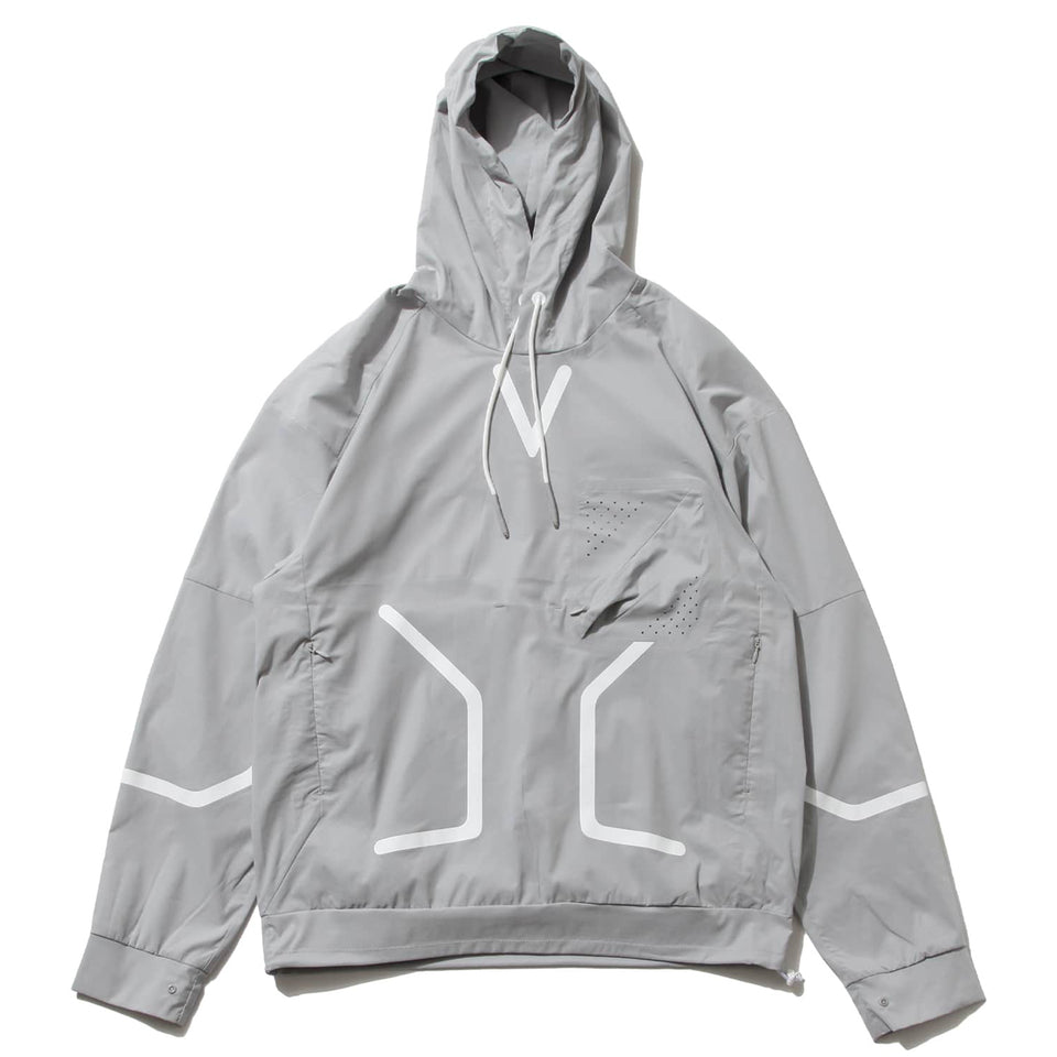 F/CE® | MICROFT x SOLOTEX ULTRA LIGHT WEIGHT HOODIE - GRAY