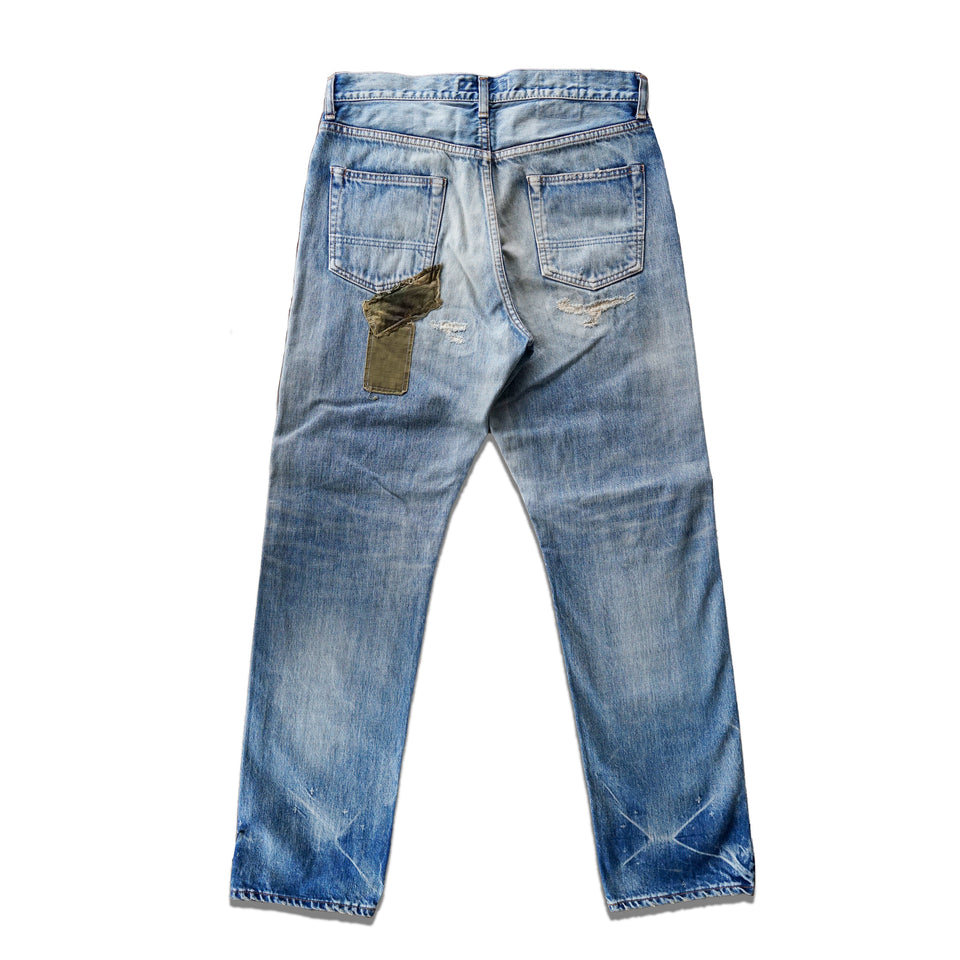 CLASSIC STRAIGHT DENIM CS78 - INDIGO