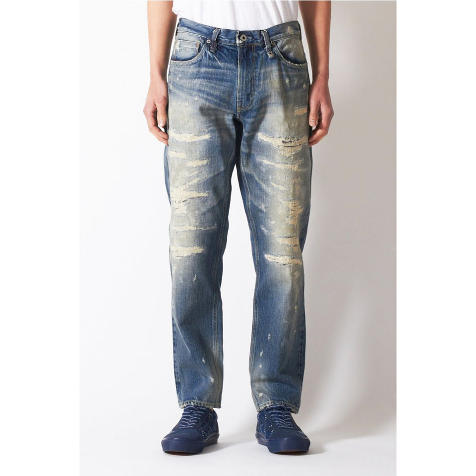 REGULAR STRAIGHT DENIM CS79 - INDIGO