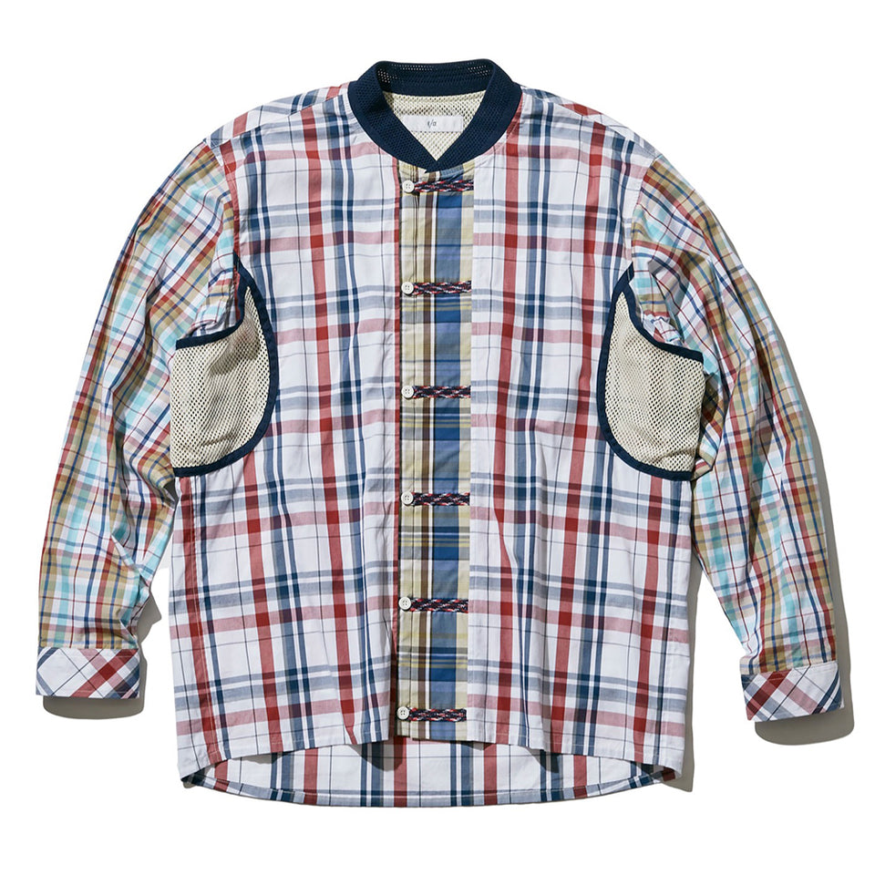 FRONT LOOP SHIRT JACKET - CHECK
