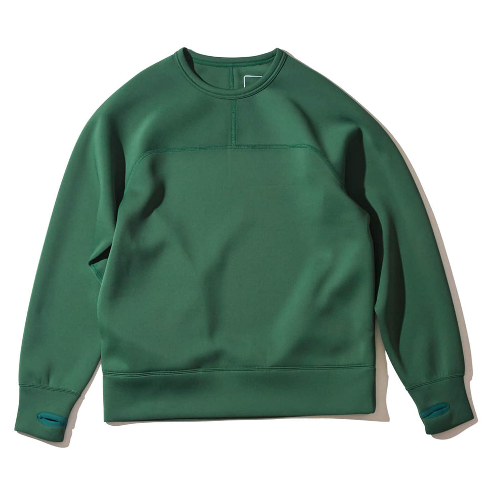 DELTA CREW SWEATS - GREEN