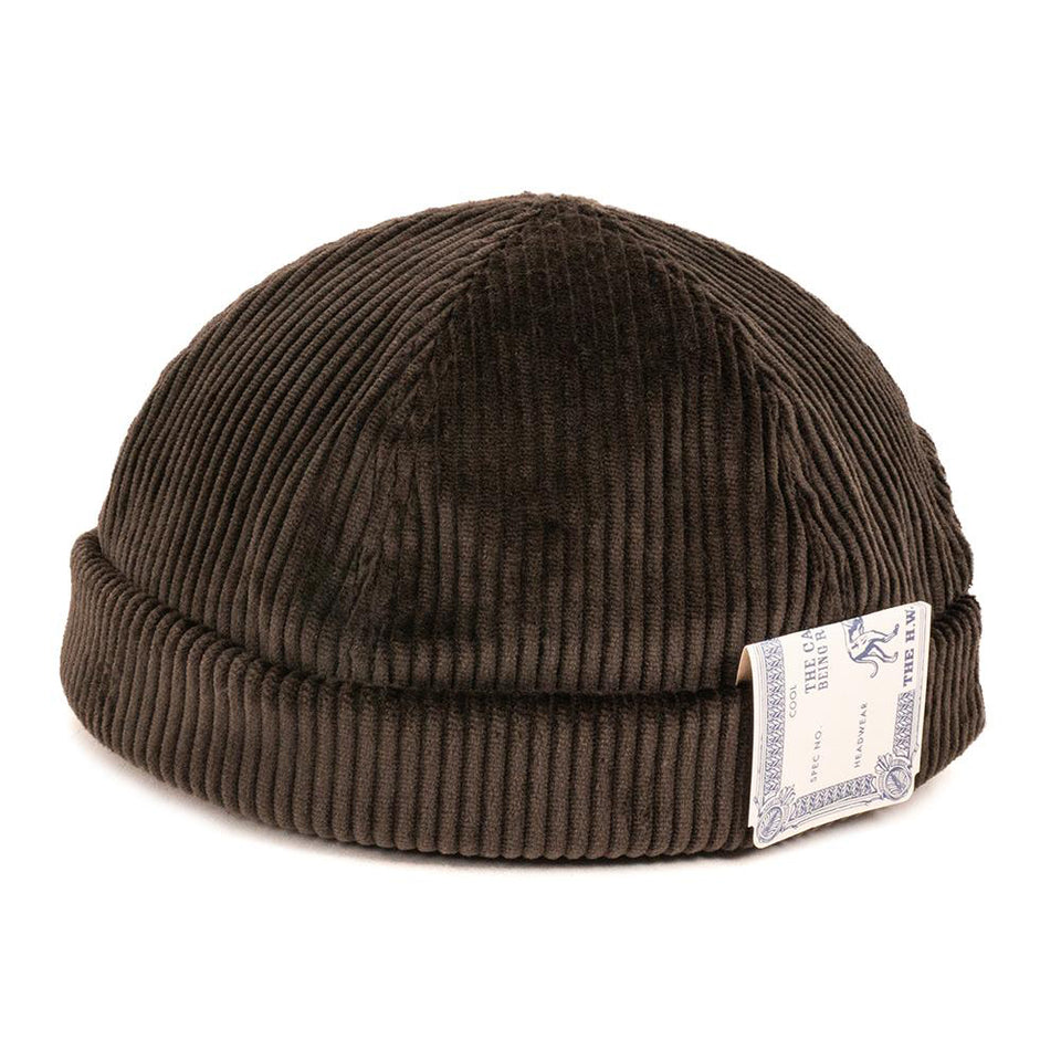 THE H.W. DOG&CO. - CORDUROY ROLL CAP