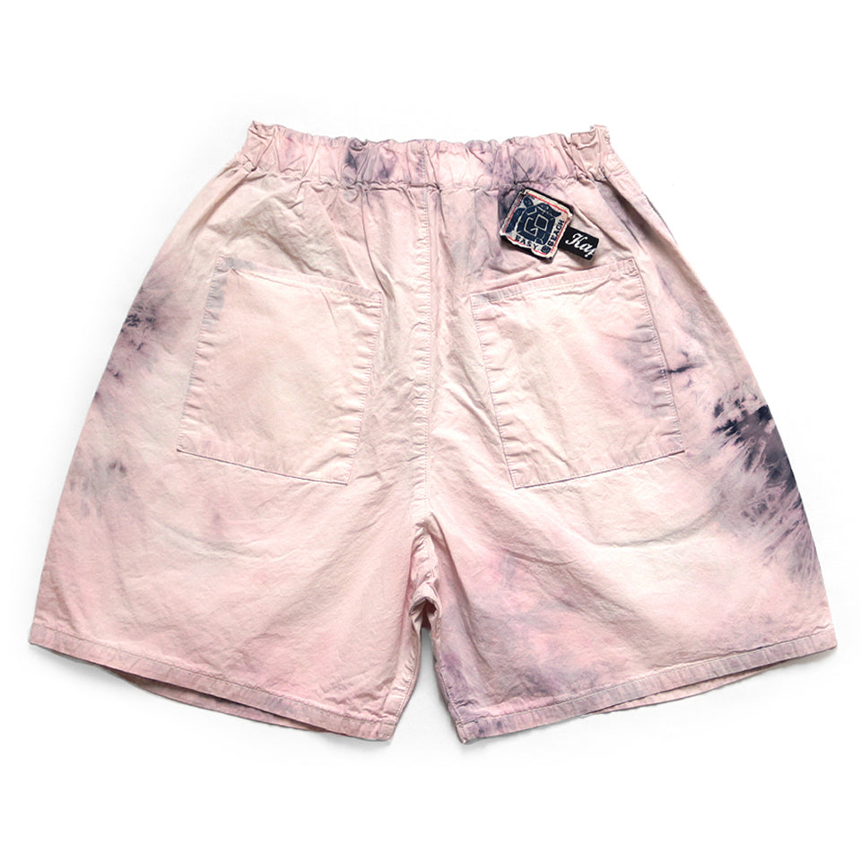 COTTON EASY-BEACH-GO SHORTS (ASHBURY DEYD) - PINK
