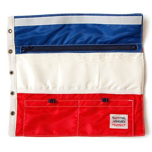 KAPITAL - REFRESH BETSY ROSS AMERICAN FLAG WALLET (L)