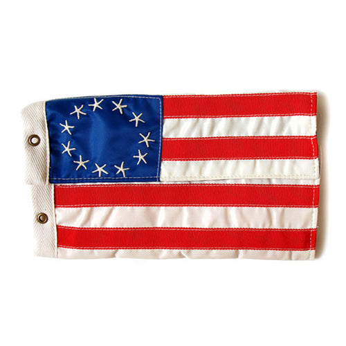 KAPITAL - REFRESH BETSY ROSS AMERICAN FLAG WALLET (S)