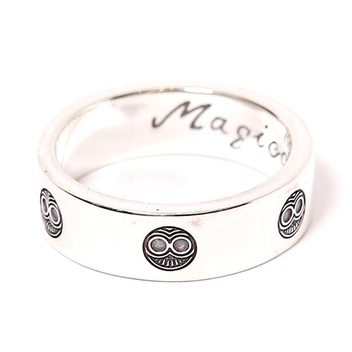 MAGICAL DESIGN - TIBEKKOTSU LOVE RING - SILVER