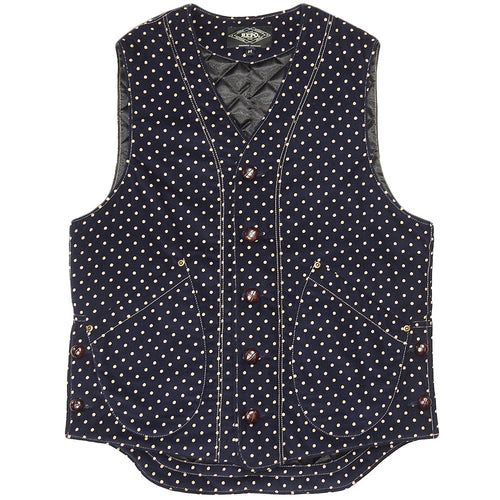 U.S.REPO - LIGHTHOUSE CORDUROY VEST - P.DOT/NAVY