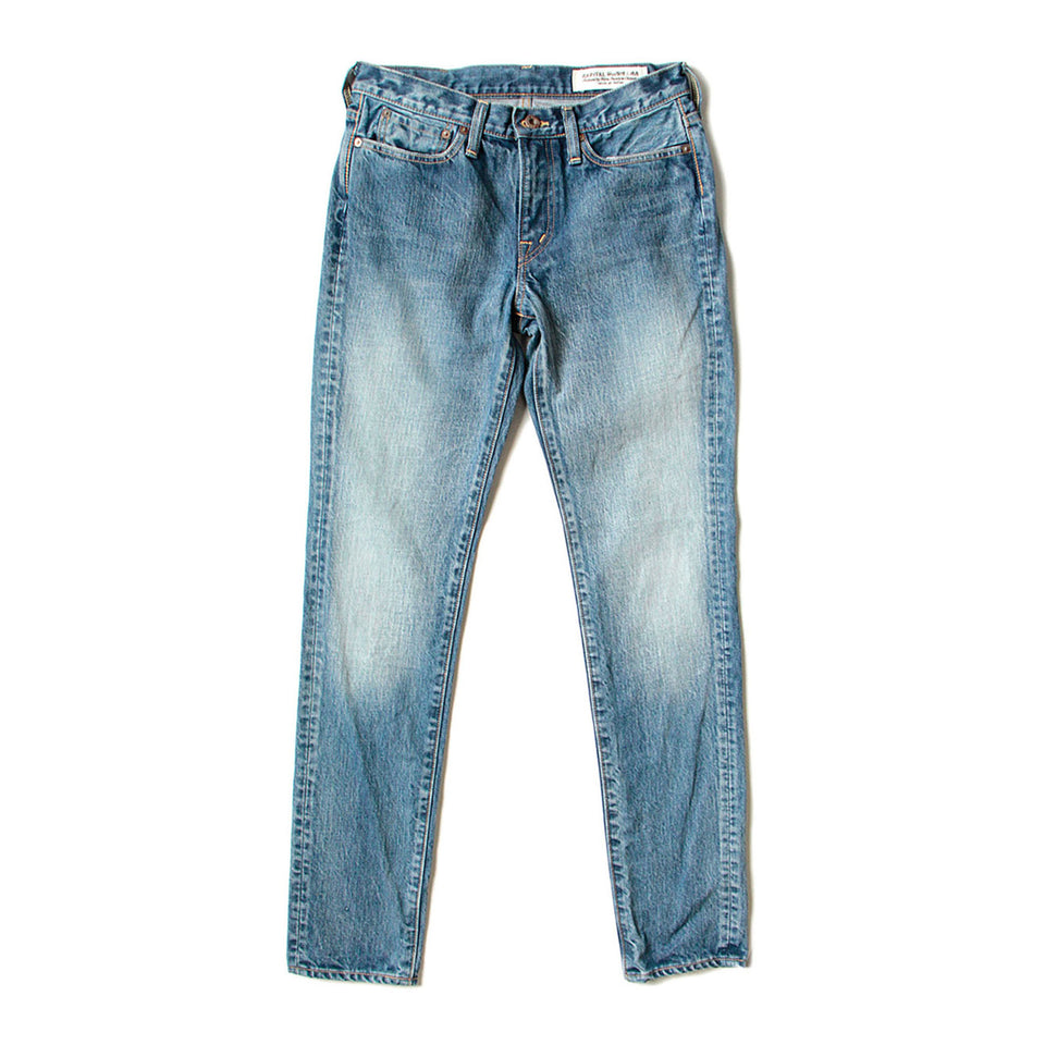 14oz DENIM SKINY JEANS (LADIES) - INDIGO