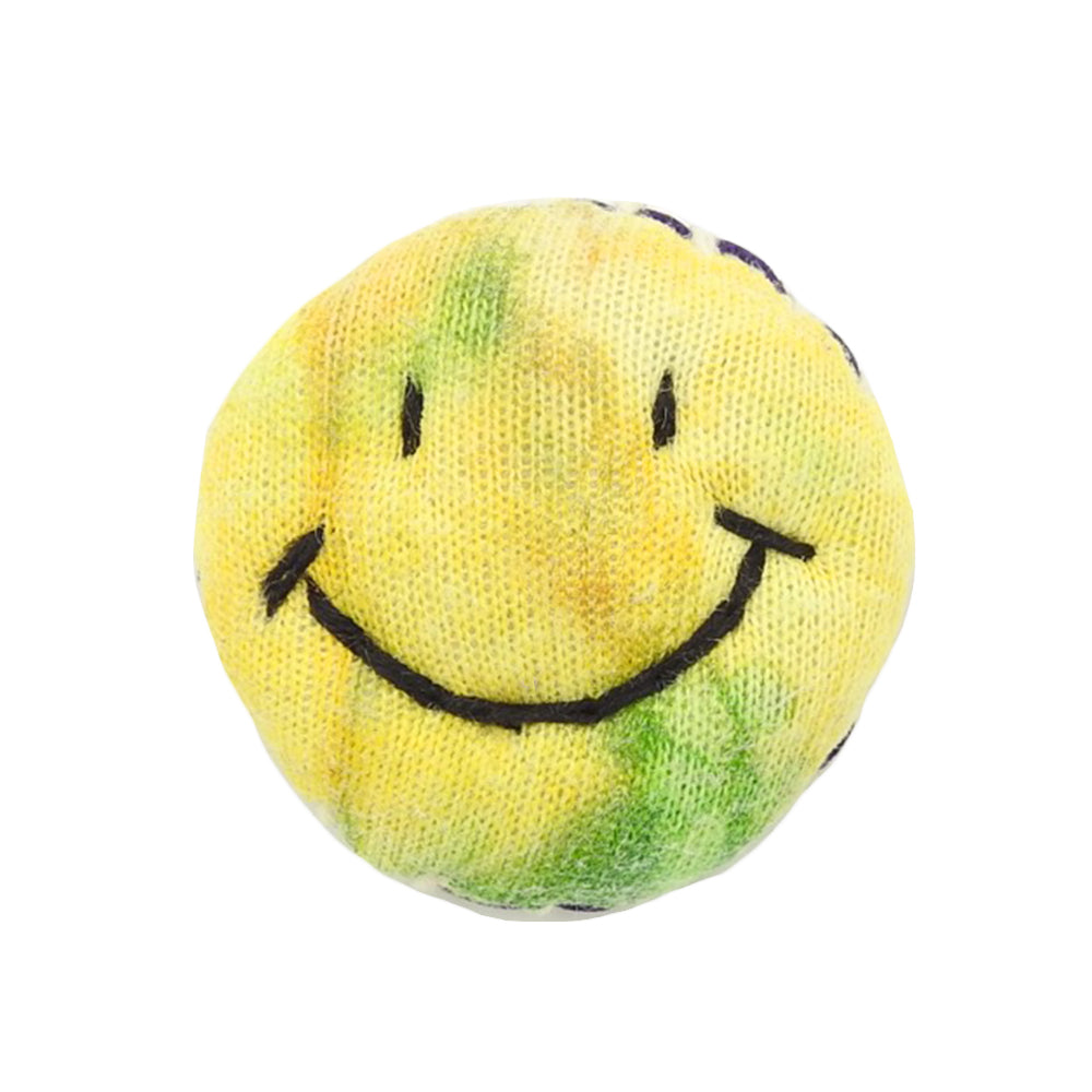 SMILE FACE PIN - TIE DYE