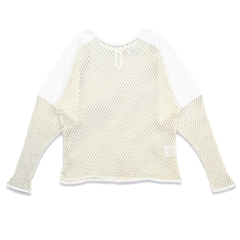 SUB-AQUATIC MESH SWEAT - WHITE