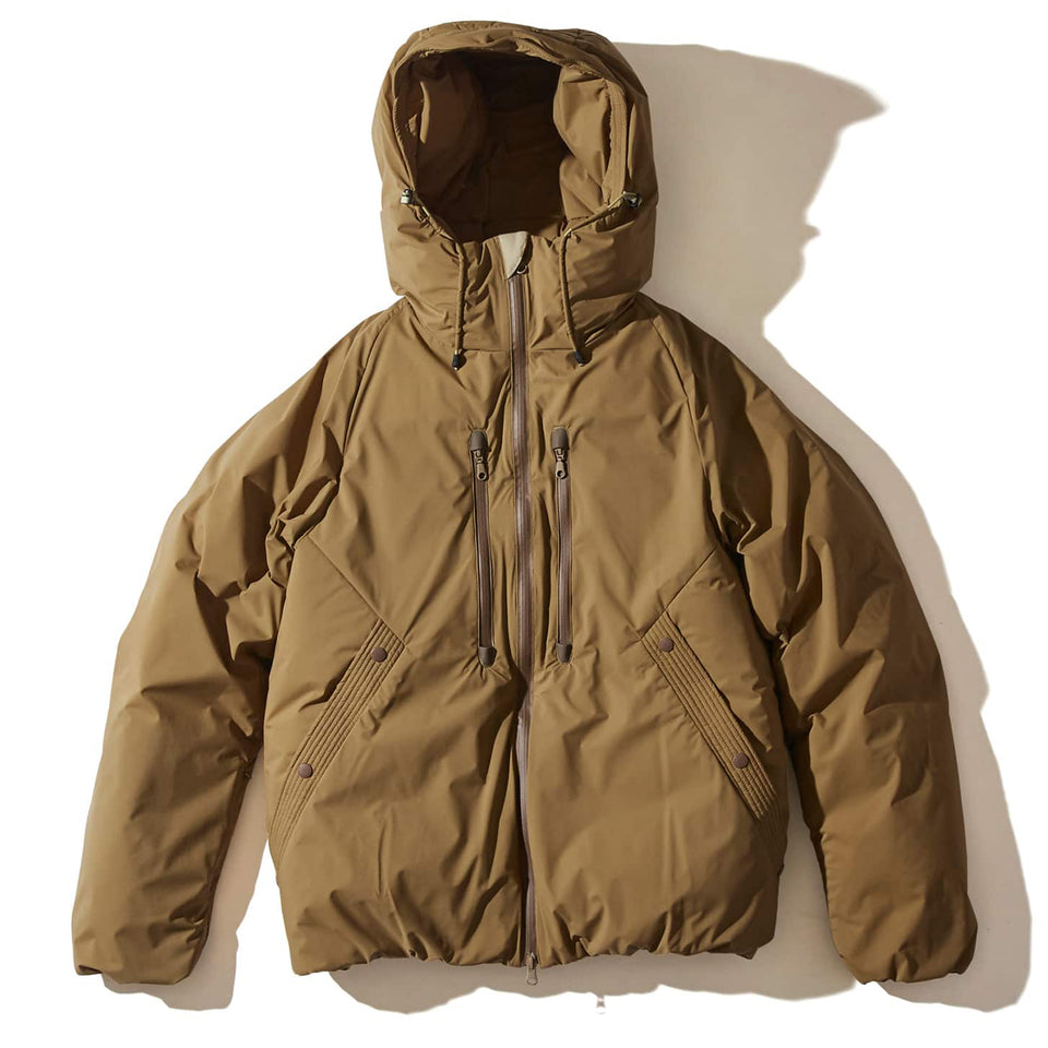 ULTRA LIGHT WHITE DUCK DOWN JACKET - COYOTE
