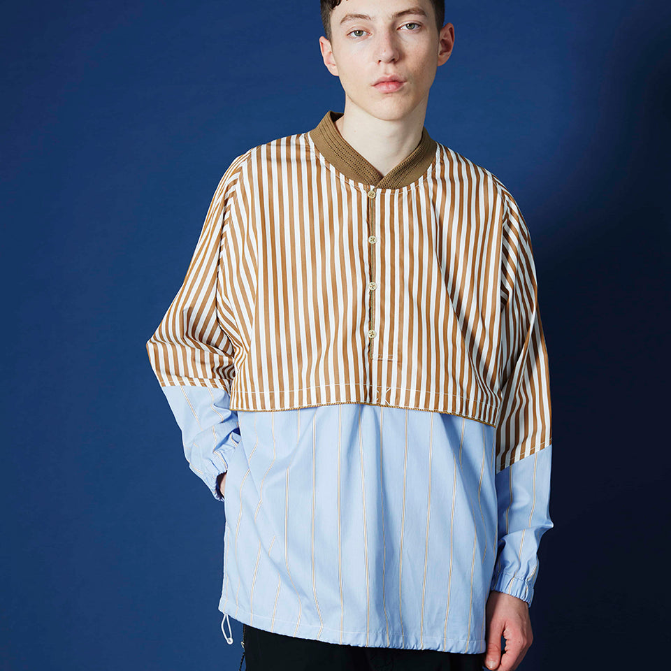 CHRIKET RIB SHIRT - BEIGE