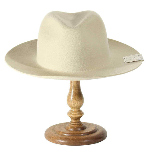 THE H.W. DOGS&CO. - FOLD HAT BEIGE