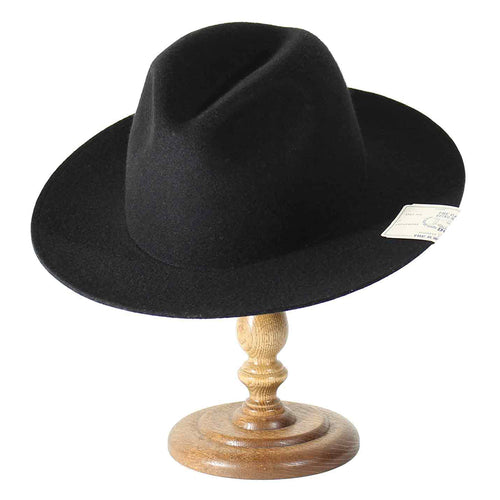 THE H.W. DOGS&CO. - FOLD HAT BLACK