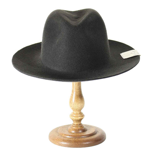 THE H.W. DOGS&CO. - FOLD HAT CHARCOAL