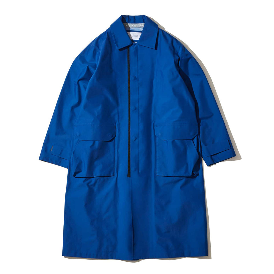 3 LAYERED SEAM TAPE RAIN COAT - BLUE