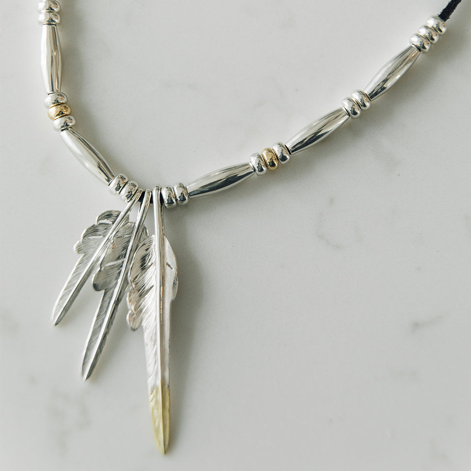 Larry Smith - Feather Necklace No.32 at Mannahatta NYC
