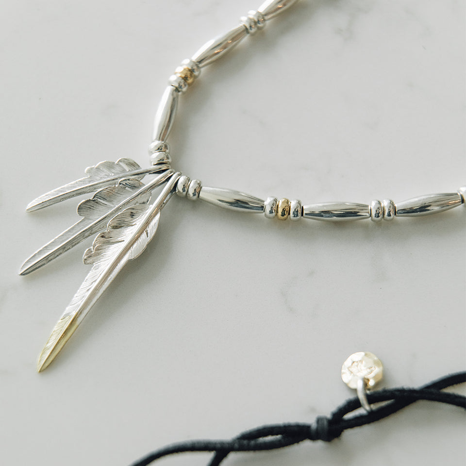 Feather Necklace No.32