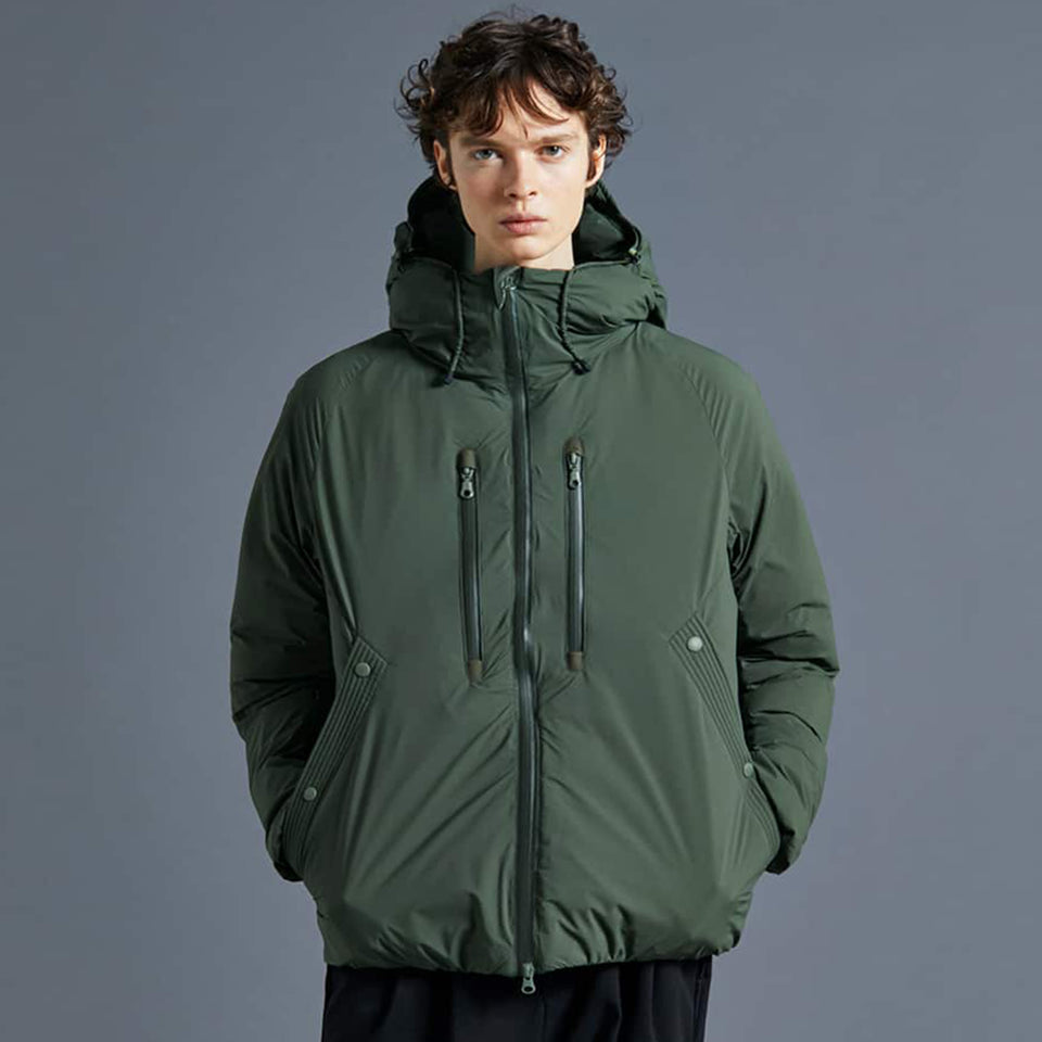 DOWN BOMB JACKET - ARMY GREEN