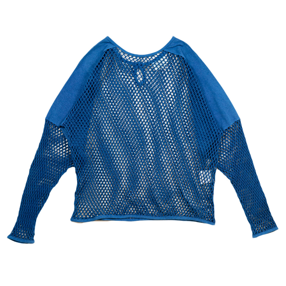 Sub-Aquatic Sweat Mesh Shirt - Blue