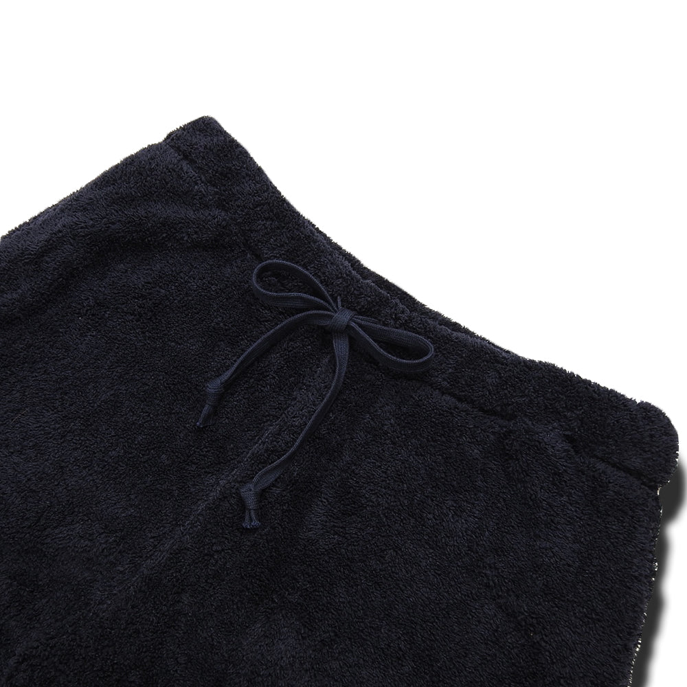 ts(s) - FLEECE JERSEY SLIM SWEAT PANTS - NAVY