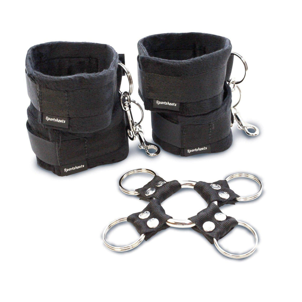 5 Piece Hog Tie & Cuff Set - Couples Playthings