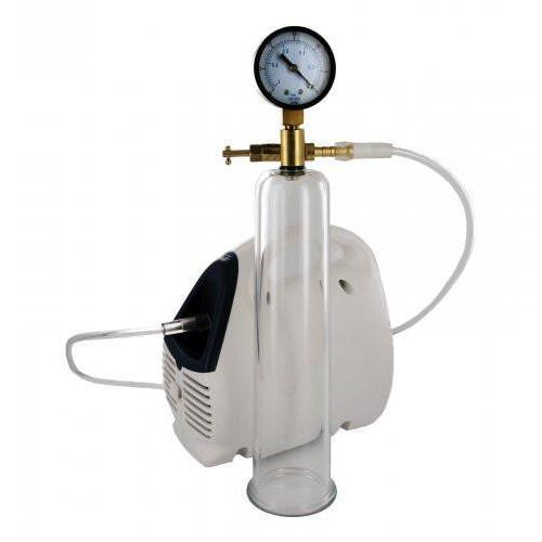 Deluxe Electric Pump with Cylinder and Gauge - Couples Playthings