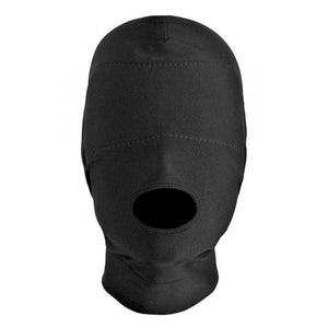 Disguise Open Mouth Hood with Padded Blindfold - Couples Playthings