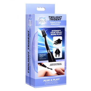 Extreme Twilight Trident eStim Attachment - Couples Playthings