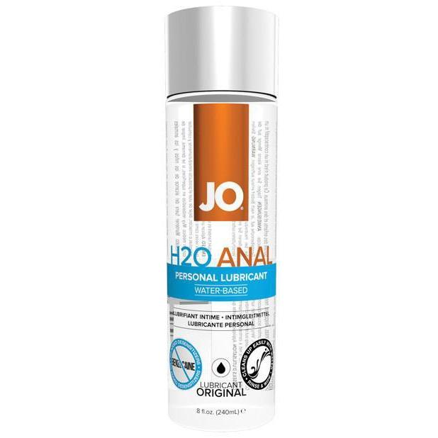 JO H2O Anal-Lube-System JO-8 ounce-Couples Playthings
