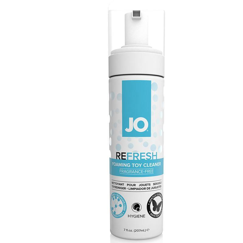 JO Refresh Foaming Toy Cleaner 7oz - Couples Playthings