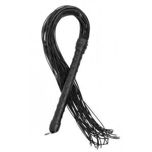 Leather Cord Flogger - Couples Playthings