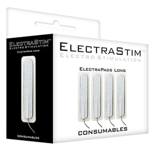 Long Self-Adhesive ElectraPads (4 Pack)-E-stim attachment-ElectraStim-Couples Playthings