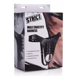 Male Chastity Harness - Couples Playthings