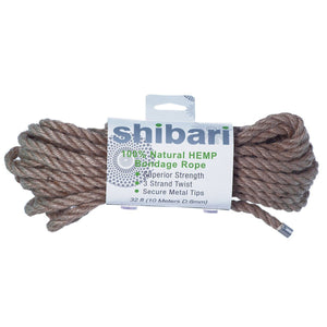 Natural Hemp Rope - Couples Playthings