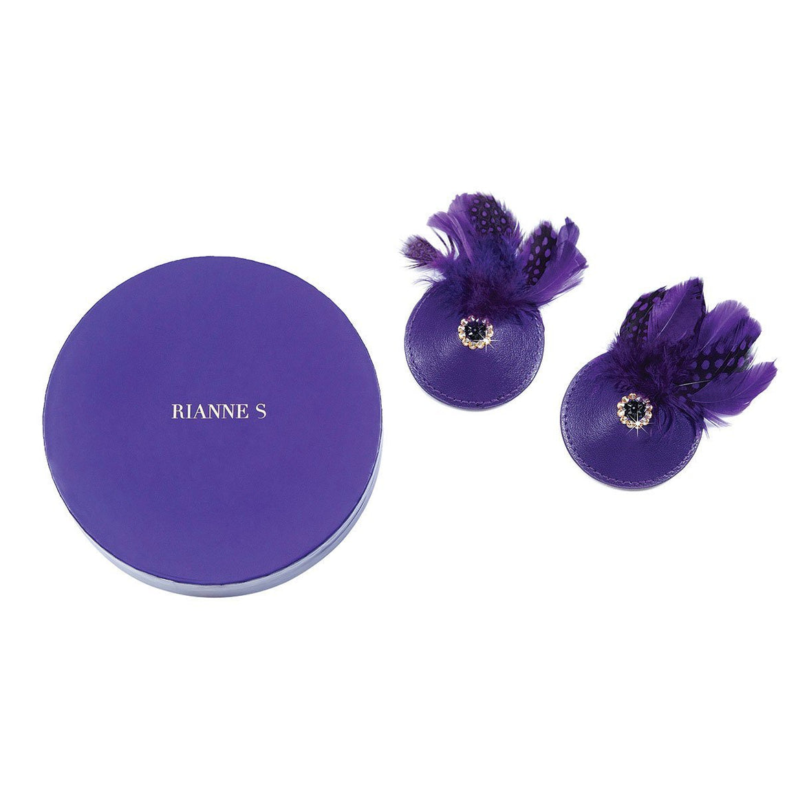 Pasties Birds - Purple - Couples Playthings