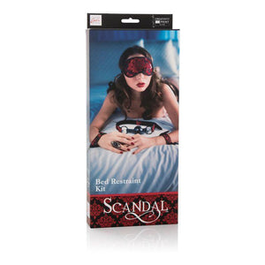 Scandal Bed Restraint Kit - Couples Playthings
