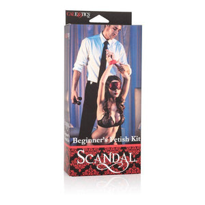 Scandal Beginner's Fetish Kit - Couples Playthings