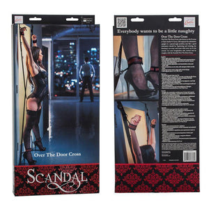 Scandal Over The Door Cross - Couples Playthings
