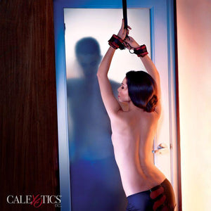 Scandal Over The Door Cuffs - Couples Playthings