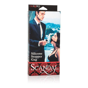 Scandal Silicone Stopper Gag - Couples Playthings