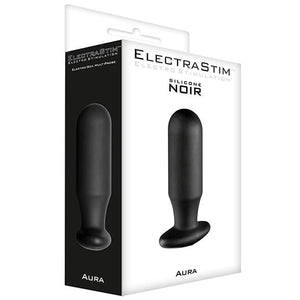 Silicone Noir Aura Multi-Probe Electrode (Vaginal & Anal) - Couples Playthings