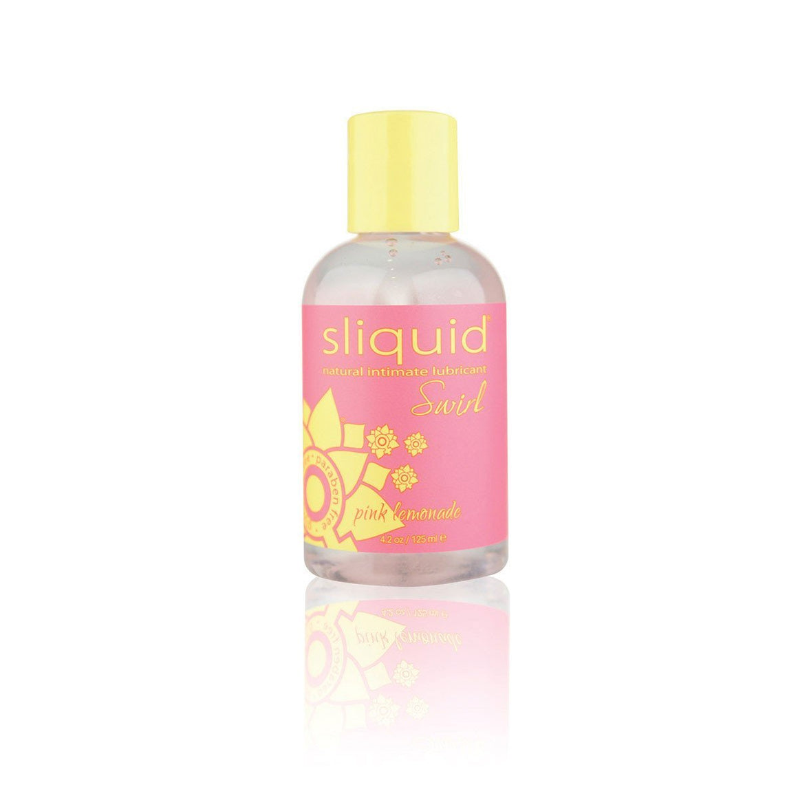 Sliquid Swirl Pink Lemonade 4.2oz - Couples Playthings