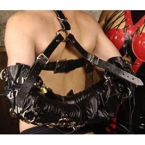 Strict Leather Deluxe Arm Binder Restraint - Couples Playthings