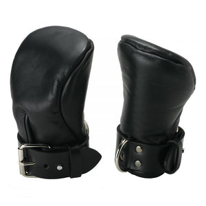 Strict Leather Deluxe Padded Fist Mitts - Medium/Large - Couples Playthings