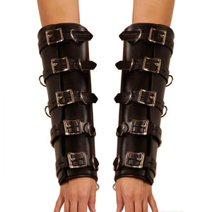 Strict Leather Premium Locking Arm Splints - Couples Playthings