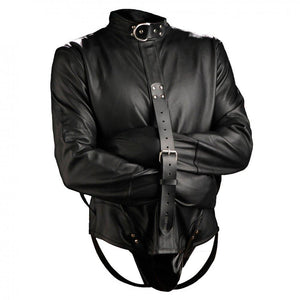 Strict Leather Premium Straitjacket - Couples Playthings