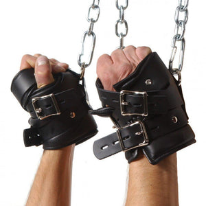 Strict Leather Premium Suspension Wrist Cuffs - Couples Playthings