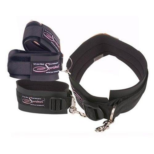 Thigh & Wrist Cuff Set - Couples Playthings